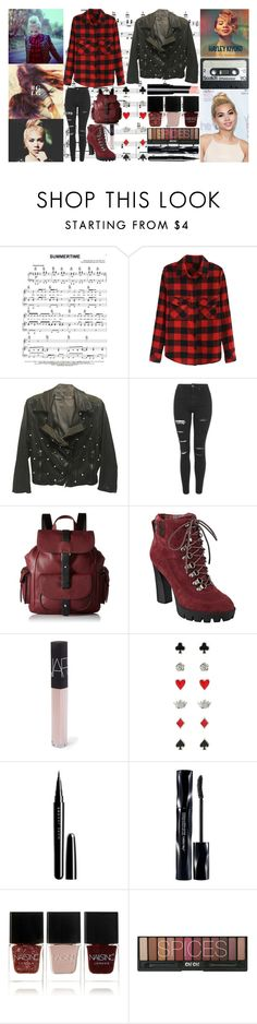 """""""Hayley Kiyoko"""" by shadow13goddess101 ❤ liked on Polyvore featuring JEM, Drome, Topshop, Kenneth Cole Reaction, Nine West, NARS Cosmetics, Marc Jacobs, Shiseido and Nails Inc."""