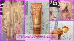 L'oreal Elvive Extraordinary Oil In Cream Review & Demo with @SoniaVpins   #loreal #drugstore #hair #haircare #review #beauty #blonde #demo #youtubers #longhair