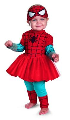 Disguise Costumes Marvel Spider-Girl Kutie Infant, Red/Blue, 12-18 Months Disguise,http://www.amazon.com/dp/B00CPTJPNM/ref=cm_sw_r_pi_dp_IdaLsb0CD4XG8PTY