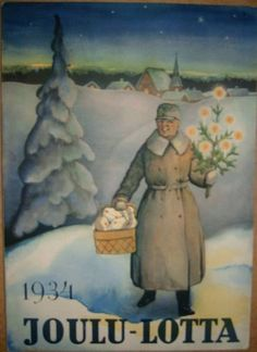 What If-Finland had been prepared for the Winter War? Christmas Photos, Christmas Cards, Merry Christmas, Newspaper Cover, Winter Illustration, Seasons Of The Year, Scandinavian Christmas, Photo Postcards, Vintage Holiday