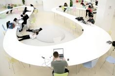 150m Long Study Table by MAKS