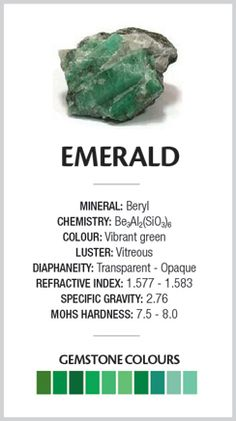 emerald green things | ... Handcrafted Jewellery · Emerald – The Green of Glowing Things