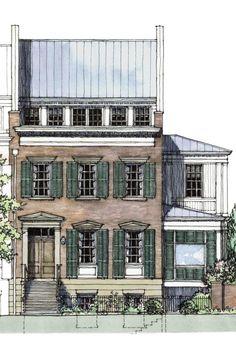 Abercorn Place Floor Plan. House Design PlansHouse Floor PlansArchitecture  SketchesHand ...