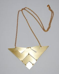 The Bermuda Triangle Necklace