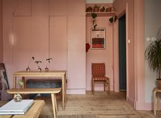 Gravity Home — Tiny pink & blue apartment Apartment Style, House Design, Home And Living, Apartment, House Interior, Apartment Decor, Home, Interior, Home Decor