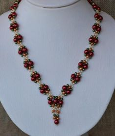 Pirates Treasure - Beaded Necklace Pattern by Cecilia Rooke at Bead-Patterns.com