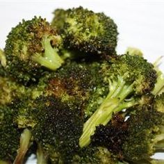 """Roasted Garlic Lemon Broccoli 