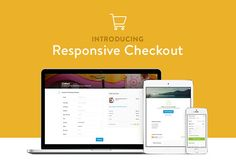 Introducing Responsive Checkout by Shopify. Discover more at http://www.shopify.com/blog/15714308-introducing-responsive-checkout.