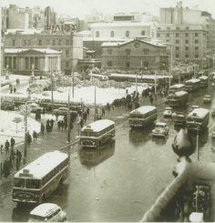 17 Ιανουαρίου 1964, χιόνι στην Αθήνα Φωτογραφία Κ. Μεγαλοκονόμου-Μουσείο Μπενάκη