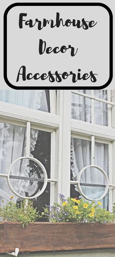 #Farmhouse #decor accessories for inspiration and design ideas for your #home. #shopping #homedecor #homedecorating