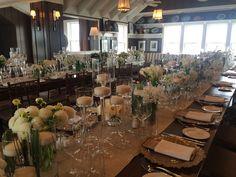 Great Harbor Yacht Club Dining Room Wedding