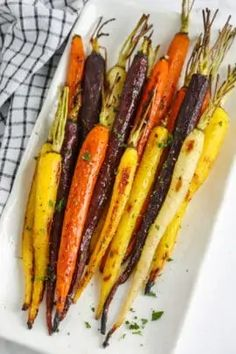 Grilled Marinated Vegetable Kabobs - Spend With Pennies Roasted Carrots, Roasted Sweet Potatoes, Roasted Vegetables, Easy Banana Bread, Banana Bread Recipes, Quick Bread, Rainbow Carrot Recipes, Breaded Pork Chops
