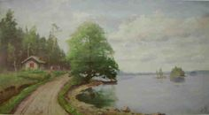 Strandlandskap Ellen Favorin - Ellen Favorin – Wikipedia Artists, Painting, Painting Art, Paintings, Painted Canvas, Artist, Drawings