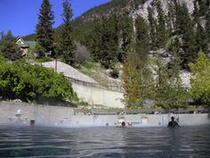 Radium Hot Springs, Kootenay Park, BC