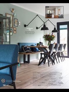 Openslaande kunststof tuindeuren in zwart of antraciet grijs van Select Windows Dining Area, Dining Room, Dining Table, Home Living Room, Decoration, New Homes, Loft, Flooring, Inspiration