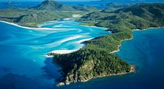 Whitehaven Beach, in Australia's Whitsunday Islands. From: Snorkeling Australia's Great Barrier Reef
