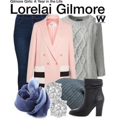Inspired by Lauren Graham as Lorelai Gilmore on Gilmore Girls - A Year in the Life.