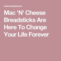 Mac 'N' Cheese Breadsticks Are Here To Change Your Life Forever – Gerrye Zuckerman - Pinrezepte Quiche, Cheese Breadsticks, Mac S, Breakfast Lunch Dinner, You Changed, Sandwiches, Cooking Recipes, Eat, Couple
