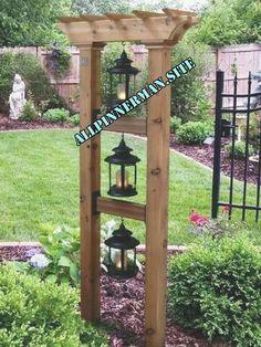 Wonderful Front Yard Design Ideas For Summer In Your Home - Diy Garden Projects Garden Yard Ideas, Diy Garden, Garden Projects, Garden Beds, Garden Art, Easy Projects, Wooden Garden, Project Ideas, Craft Ideas