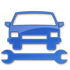 Car Repair Blue 2 Icon Points Of Interest Iconset IconsLand