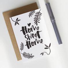 'Home Sweet Home' Card