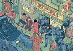 """""""The Raid"""" – Section 1 by Josan Gonzalez & Laurie Greasley"""