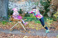 Geschwisterfotos in Berlin, Fotografie in Berlin im Herbst
