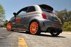 Our own Custom FIAT 500 ABARTH!  www.500MADNESS.com