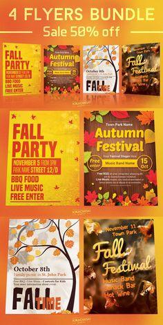 Check Out New Work On My Behance Portfolio Autumn Equinox Flyer