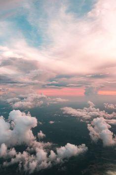 Beautiful Sky Clouds Photography Art Print by standardprints