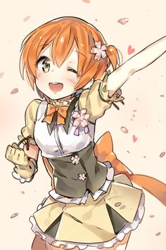 Hoshizora Rin    ~Love Live! School Idol Project