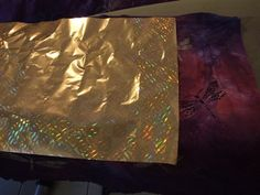 Foil on fabric