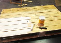 DIY pallet coffeetable