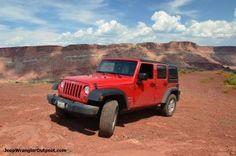 Jeep wranglerMOAB Utah Jeep rental