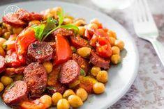 Csicseriborsós egytál Életem ételei (3) Ketchup, Chana Masala, I Foods, Smoothie, Pork, Vegetables, Ethnic Recipes, Tej, Blog