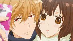 Kyoya Sata y Erika (Ookami shoujo to kuro ouji)