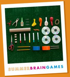 Great family science activities, free from MSI. Check out the instructions for making a rubber band car!