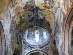 Freski w monastyrze Gelati