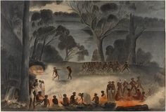 Gerard Krefft, Corroboree on the Murray River (South Australia), Aboriginal Culture, Aboriginal People, Aboriginal Art, Aboriginal History, Indigenous Education, Murray River, South Australia, Alternate History, Art Lessons
