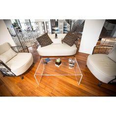 Clear acrylic coffee table 60x40 h:40 #acrylic #coffee #table #shopping #online #madeinitaly