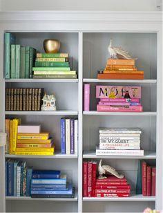 The Zhush - bookcase display