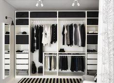 Bedroom Wardrobe Design Ideas Ikea Pax New Ideas Pax Wardrobe Planner, Ikea Pax Wardrobe, Ikea Closet, Wardrobe Closet, Wardrobe Ideas, Closet Ideas, Pax Closet, Closet Small, White Closet