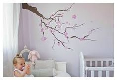 arboles pintados en pared - Buscar con Google