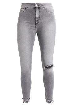 New Look VANESSA DISCO - Jeans Skinny Fit - dark grey - Zalando.nl