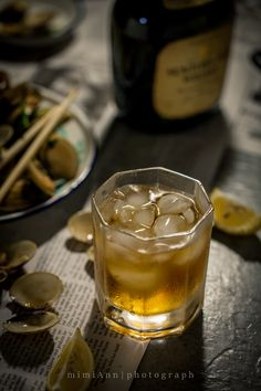 Whisky in night