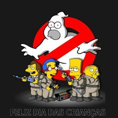 The Simpson's Homer Busters ghostbusters thesimpsons The Simpsons, Simpsons T Shirt, Homer Simpson, Los Simsons, Die Geisterjäger, Simpsons Drawings, Sketch Manga, Ghost Busters, Animation