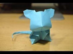 http://www.origamicentral.net/origami-cute-mouse/