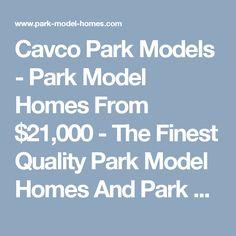 Palm Harbor Homes Park Model