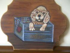 dipinto in acrilico da un progetto di Karen Hubbard