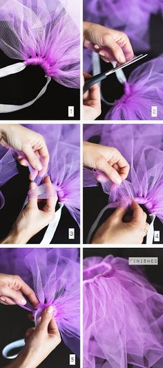 Tutorial DIY Tutu